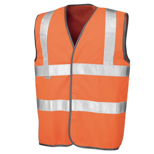 Safeguard high viz vest EN471