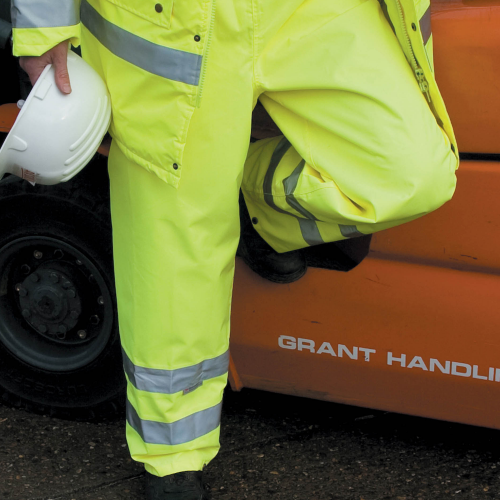 Safeguard High Viz Trouser EN 471