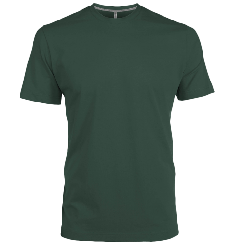 Tee-Shirt col rond - forestgreen