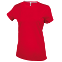 Tee-shirt col rond - red