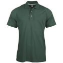 Polo manches courtes - forest green