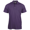 Polo manches courtes - purple