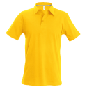 Polo manches courtes - yellow