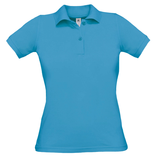 Polo B&C Safran Pure / women