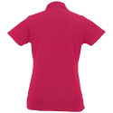 Women polo - fuchsia