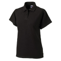 Women polo - black