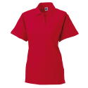 Women polo - classical red