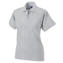 Women polo - light oxford
