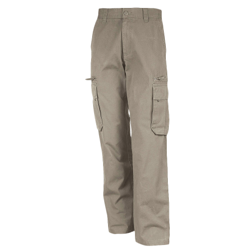 Pantalon multipoches - beige