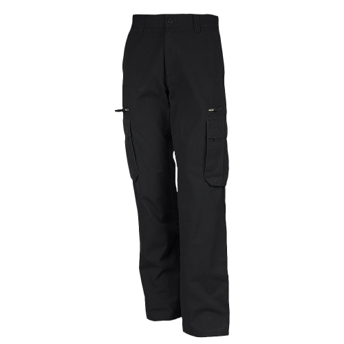 Pantalon multipoches - black
