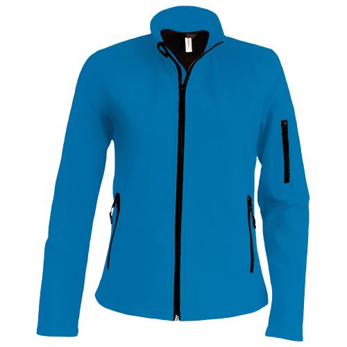 Veste Softshell - aqua blue
