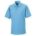 Polo workwear - sky blue