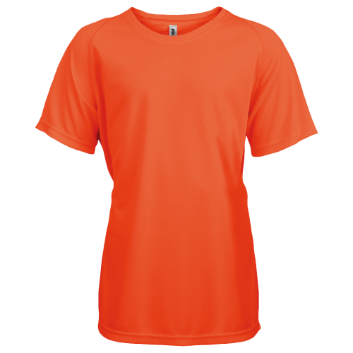 Tee shirt sport - fluo orange