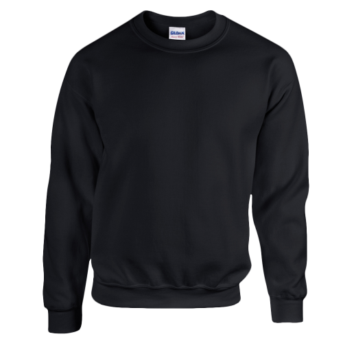 Kids crewneck sweat - black