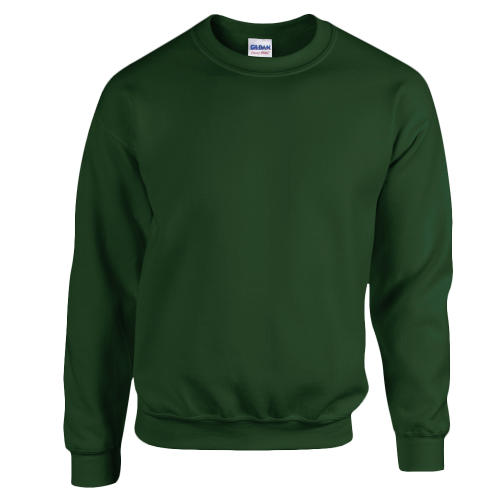 Kids crewneck sweat - forest green