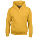 Kids hooded sweat - gold