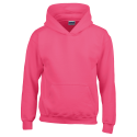 Kids hooded sweat - heliconia