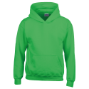 Kids hooded sweat - irish green