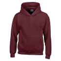 Kids hooded sweat - maroon