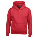 Kids hooded sweat - red