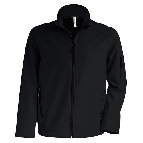Veste enfant softshell - black