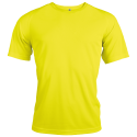 T-shirt sport - fluorescent yellow