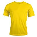 T-shirt sport - true yellow