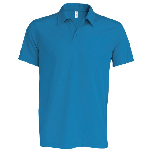 Polo sport - aquablue