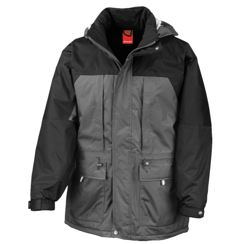 Winter jacket - charcoal - black