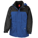 Winter jacket - royal blue - black