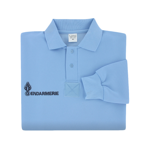 Polo Gendarmerie Manches Longues HOMME
