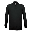 Polo manches longues Homme - black