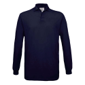 Polo manches longues Homme - navy