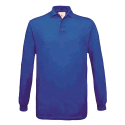 Polo manches longues Homme - royal blue