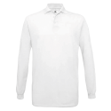 Polo manches longues Homme - white