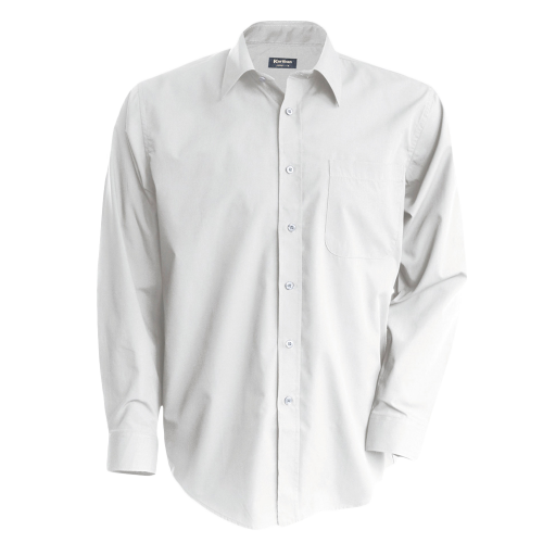 Chemise blanches manches longues pour homme Jofrey