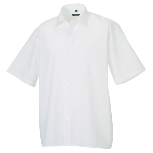 Popelin Shirt - blanc