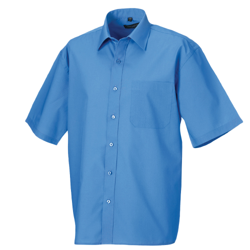 Popelin Shirt - corporate blue