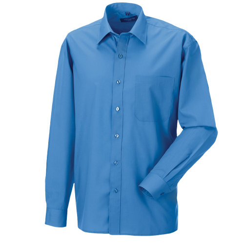 Poplin Shirt - corporate blue