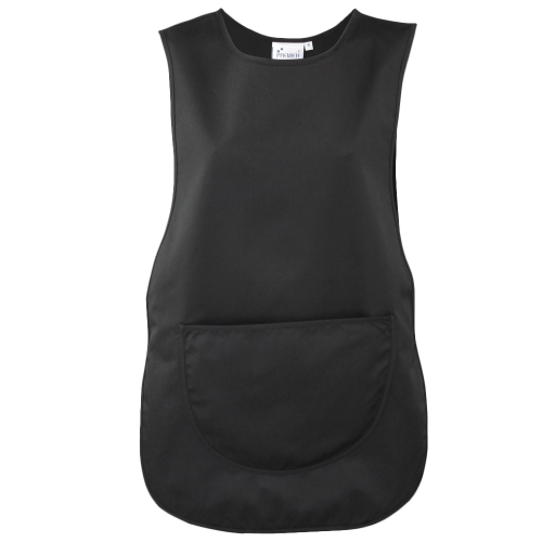 Colour pocket tabard - black