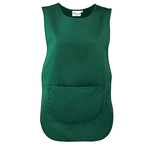 Colour pocket tabard - bottle green