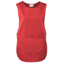 Colour pocket tabard - red