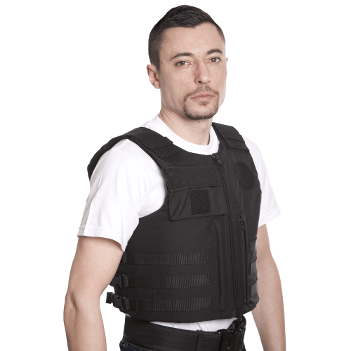Gilet Pare-Balles Security - homme - face