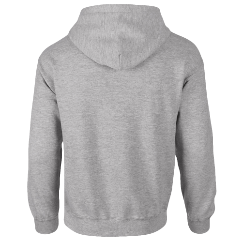 Sweat shirt Capuche - AwDis - sport grey - dos