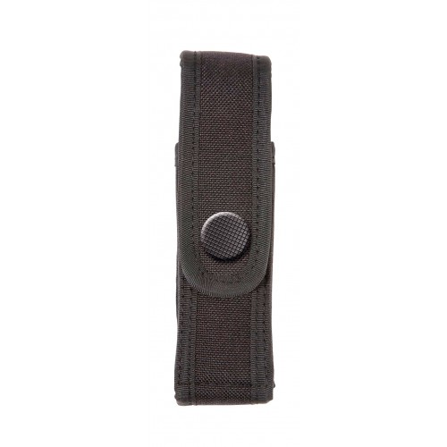 Porte-aŽrosol anti-agression 75 ml ou porte-lampe d'intervention noir