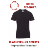OFFRE Tee-shirt Impression 1 couleur
