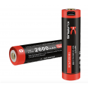 Batterie rechargeable prise micro USB