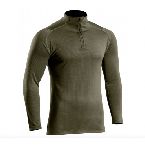 Sweat zippé Thermo Performer niveau 3 vert od
